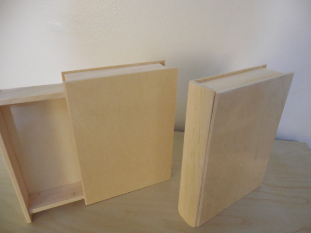 Close-up of wooden boxes