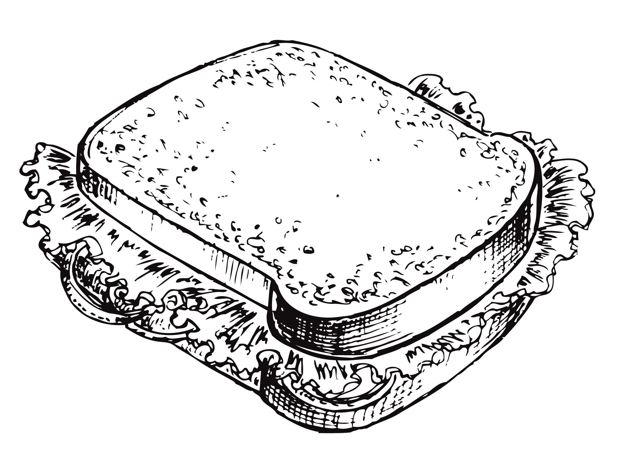 Oklahoma Fried Potato Sandwich By Mira Martin Parker