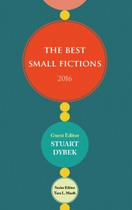 Best Small Fictions 2016 cover