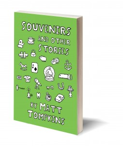 Souvenirs 3d Book Mock-Up