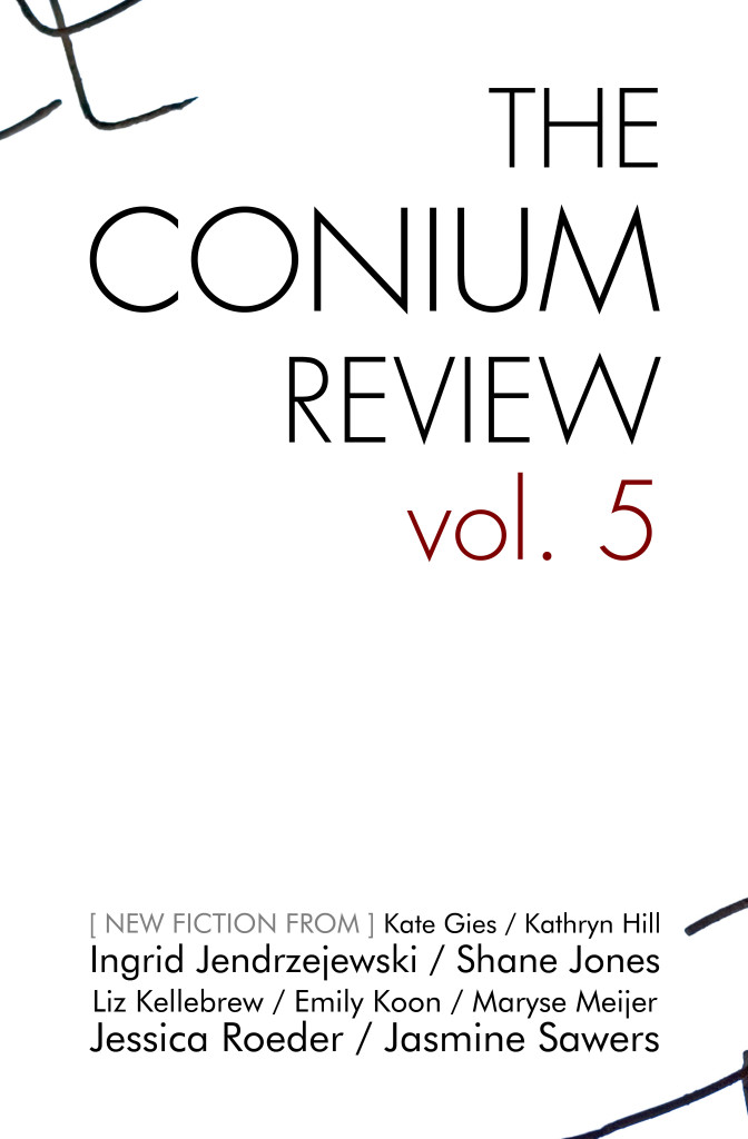 """The Conium Review: Vol. 5"" cover"