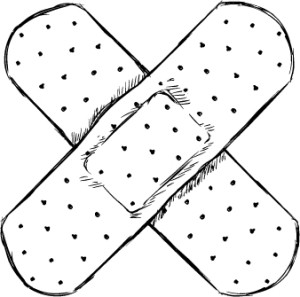 Band Aid sketch