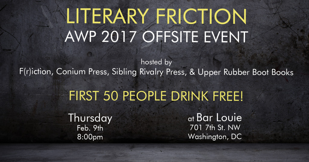 Literary Friction banner