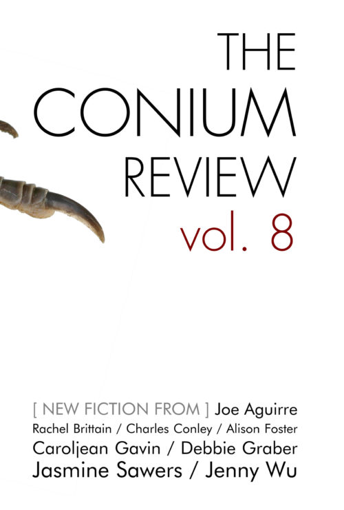 Book cover from The Conium Review Volume 8